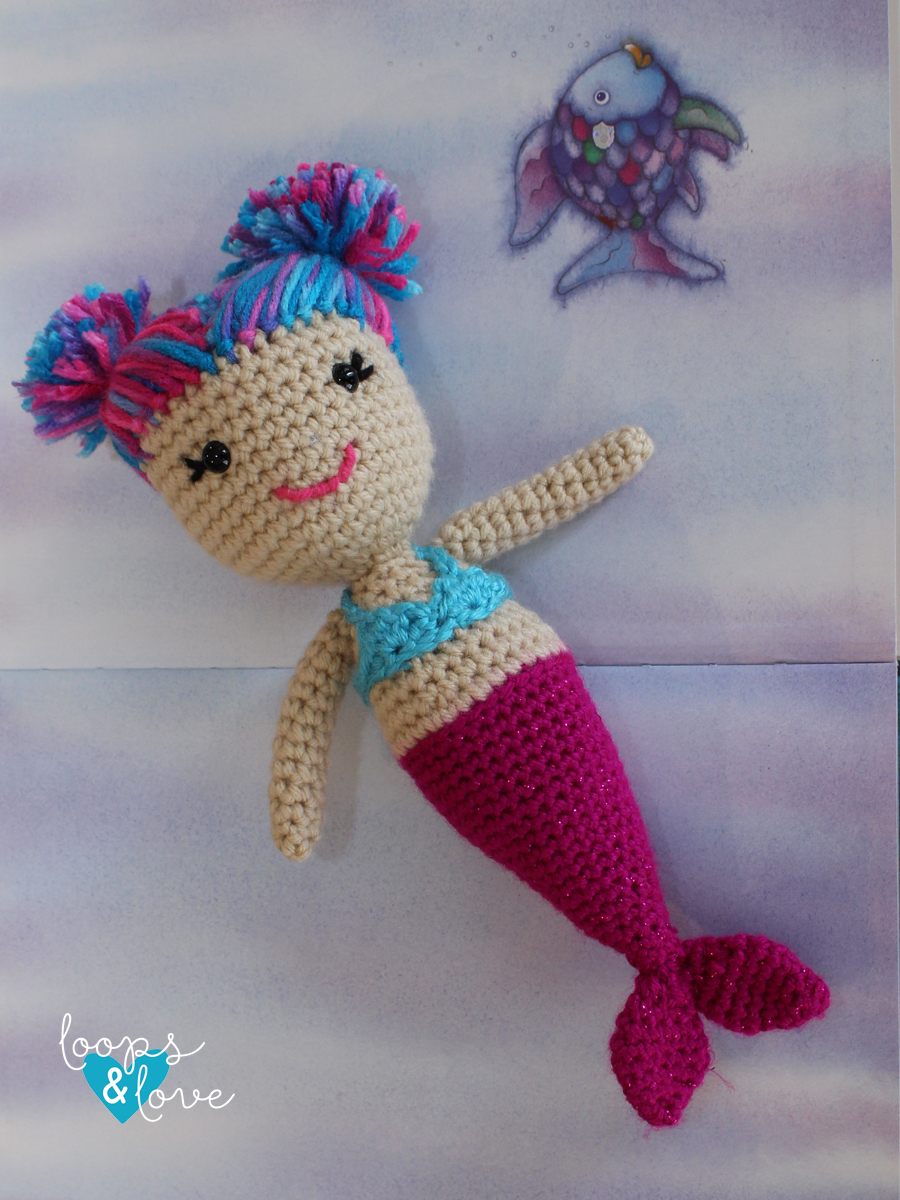 MERMAID DOLL CROCHET TUTORIAL # 2 - YouTube | 1200x900