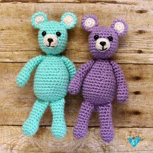 Amigurumi Tiny Bear Crochet Free Pattern - Crochet & Knitting | 300x300