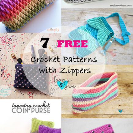 Pattern Round up: Crochet Patterns with Zippers