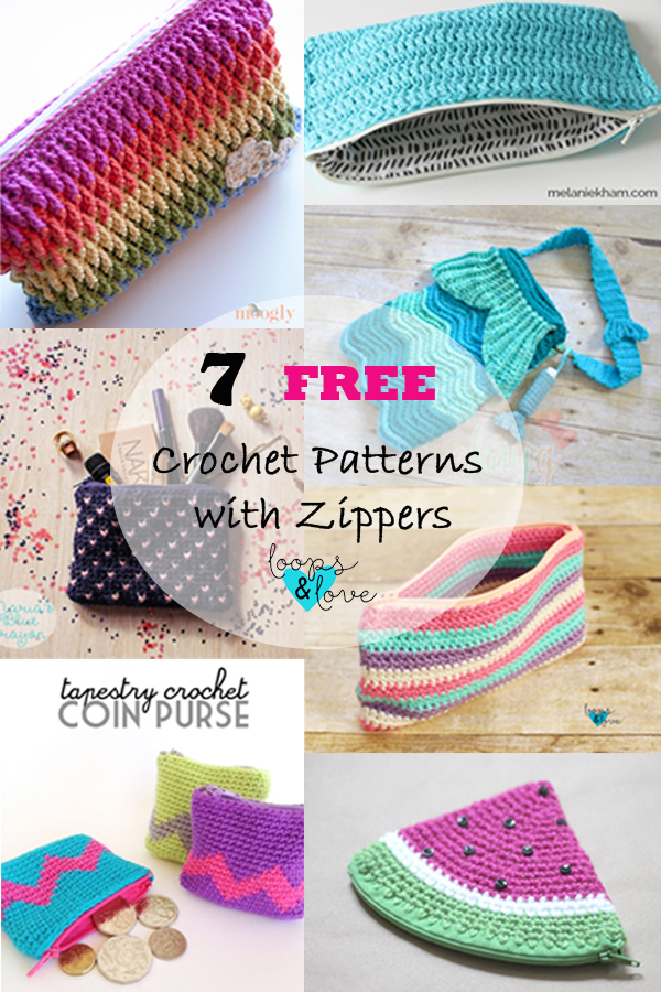 Crochet Handbag Free Patterns & Instructions | Zpagetti ... | 900x600