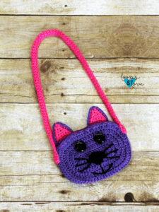 Crochet Cat Purse Loops & Love Crochet | 300x225