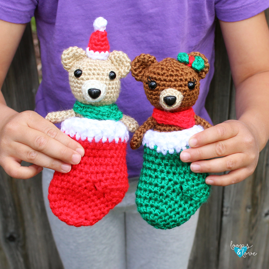 Mini Bears in Stockings