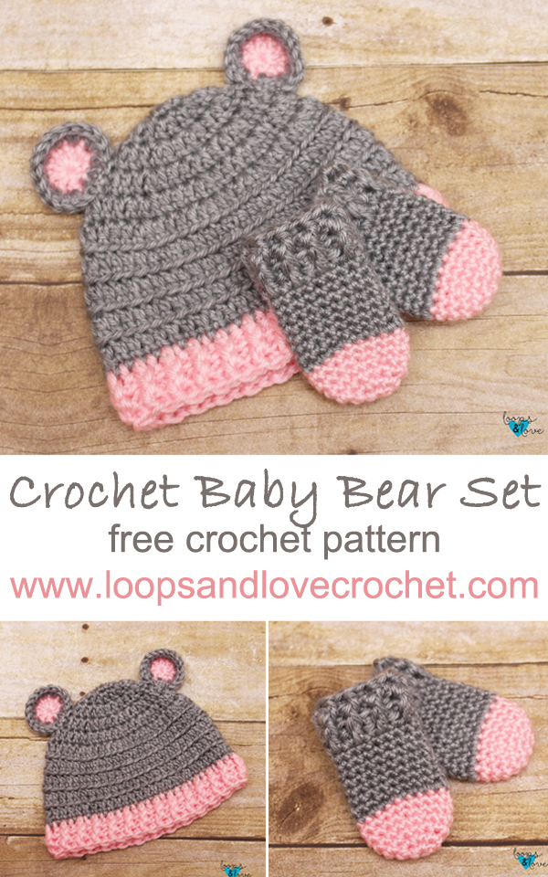 Crochet Bear Hat Pattern | 960x600