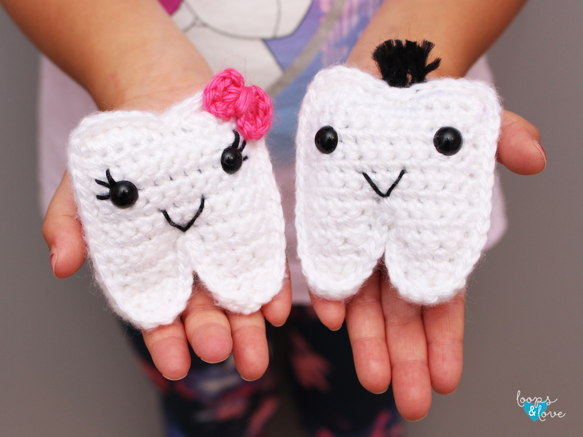 Crochet Tooth Fairy Pouch