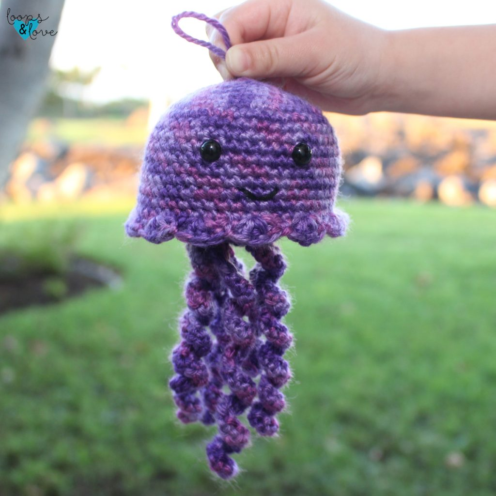 jellyfish amigurumi photo