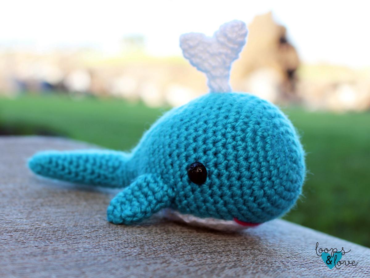 Whale Amigurumi