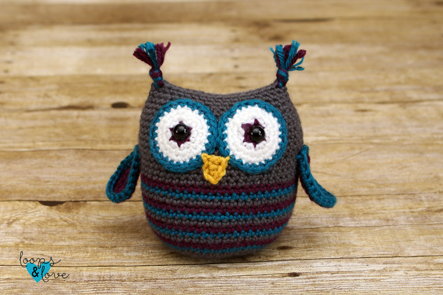 5 Little Monsters: Tiny Owl Amigurumi | 600x900