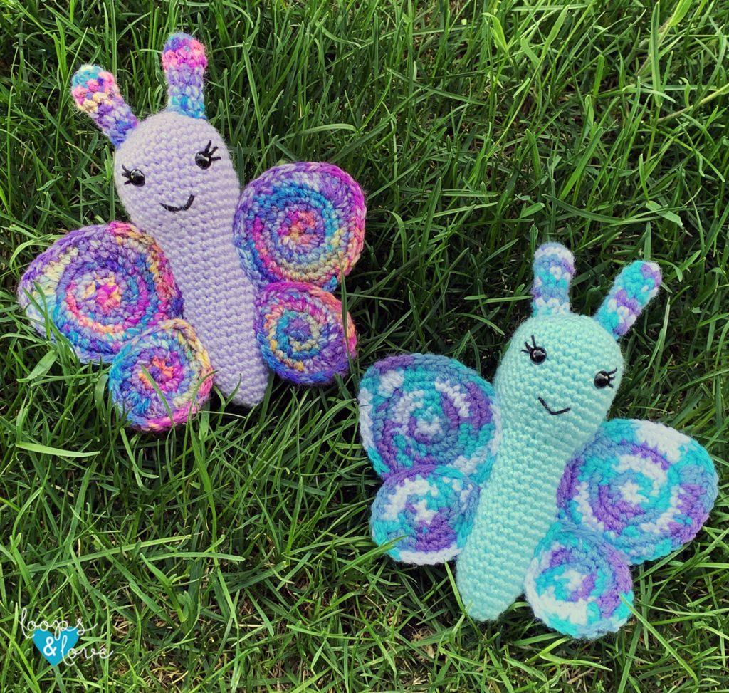 Crochet Butterfly Amigurumi