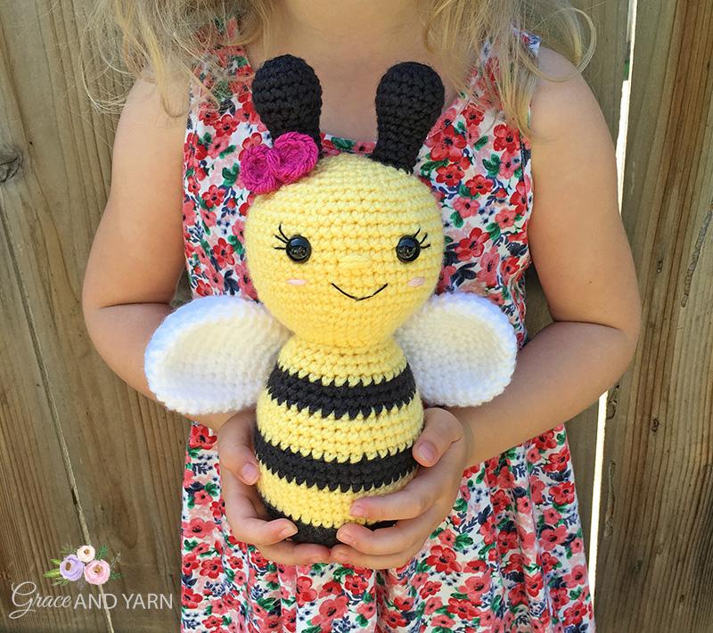 Crochet Bee Pattern