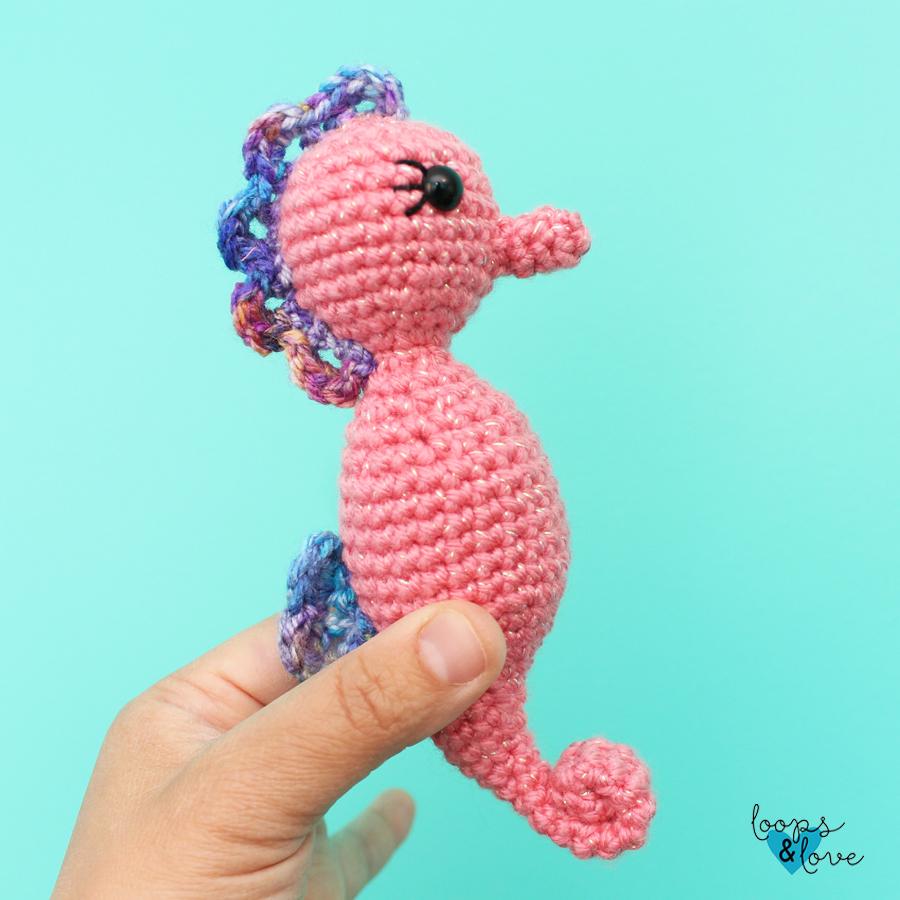 Crochet pattern Seahorse amigurumi instant download pdf | Etsy | 900x900