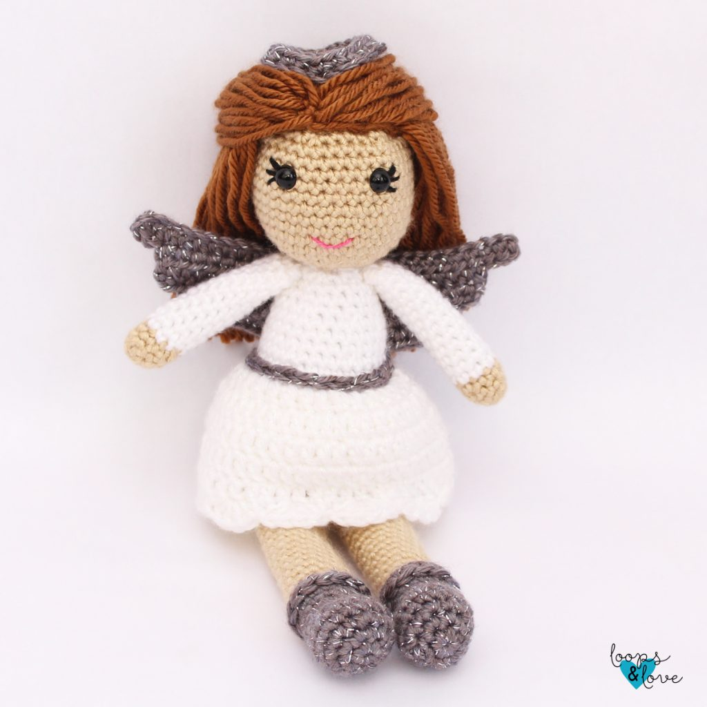 Little angel doll | Amigurumi crochet pattern | lilleliis | 1024x1024