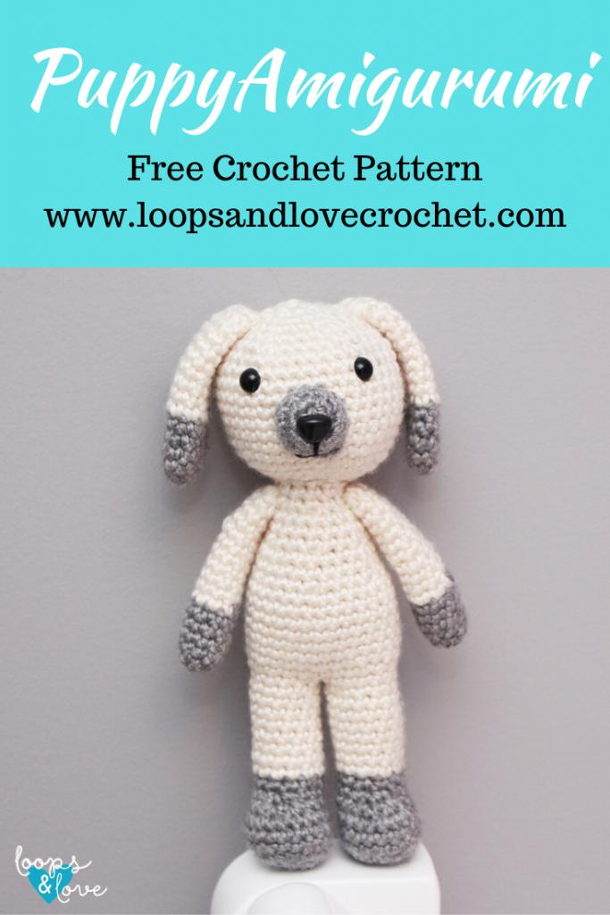 Crochet Amigurumi Sweet Dog - Free Pattern - DIY 4 EVER | 1024x683
