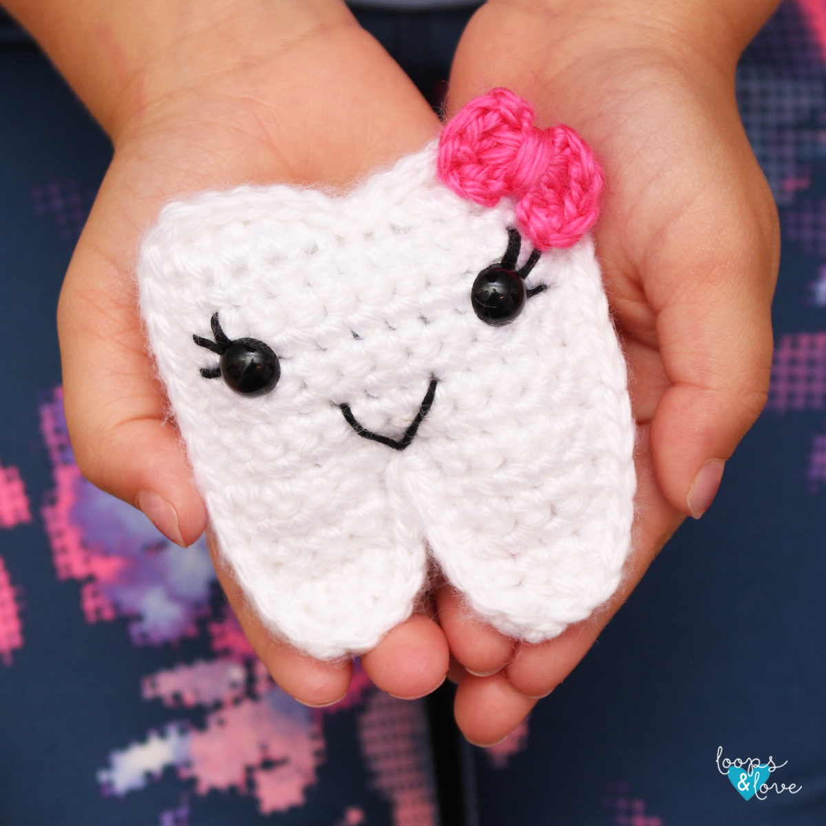 Free Tooth Fairy Crochet Pattern - Hooked On Patterns | 1200x1200