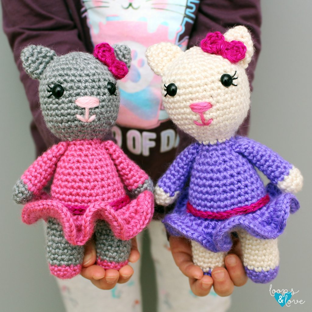 Crochet a Couple of Tux and Tabby Persian Cat Buddies – Such ... | 1024x1024