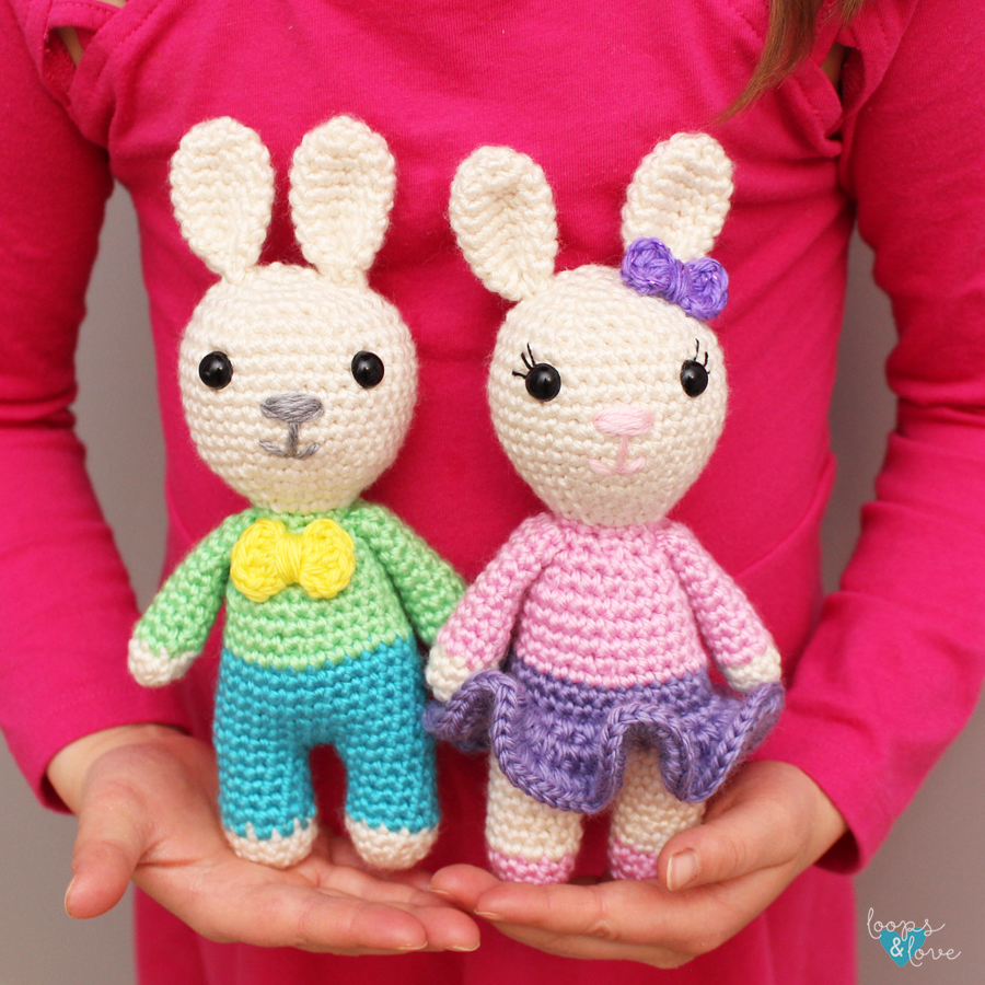 Pretty Bunny Amigurumi In Pink Dress Amigurumi Today - All Crochet ... | 900x900