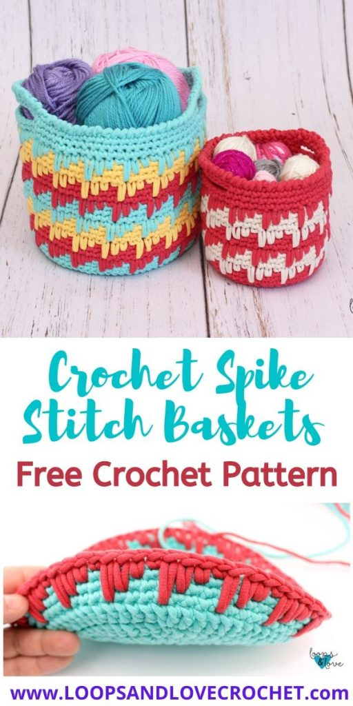 Crochet Storage Baskets Free Patterns | The WHOot | 1024x512
