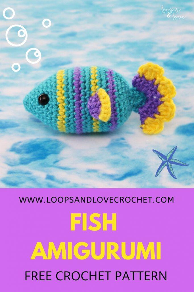 Fancy Crochet Goldfish Patterns {Video} | The WHOot | 1024x683